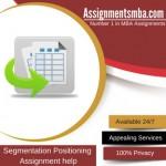 Segmentation Positioning