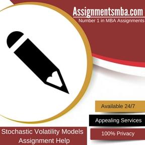 Stochastic Volatility Models Assingment Help