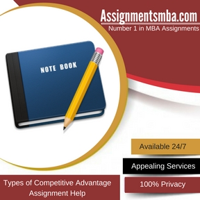 Types of Competitive Advantage Assignment Help