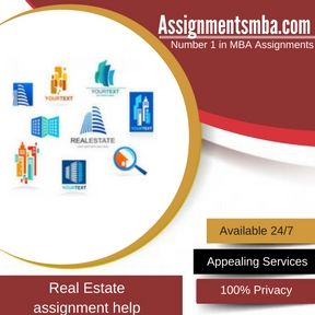 Real Estate Assignment Help