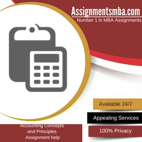 Accounting Concepts and Principles Assignment Help