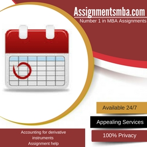 Accounting for derivative instruments Assignment Help