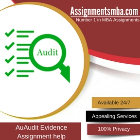 Audit Evidence Assignment Help
