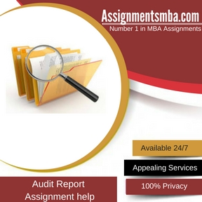 Audit Report Assignment Help