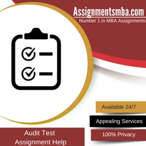 Audit Test Assignment Help