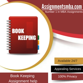 Book Keeping Assignment Help