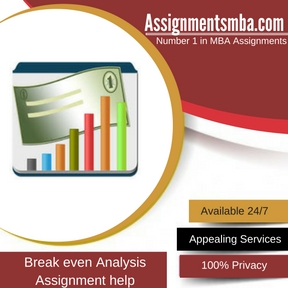 Breakeven Analysis Assignment Help