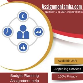 Budget Planning Assignment Help