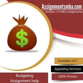 Budgeting Assignment Help