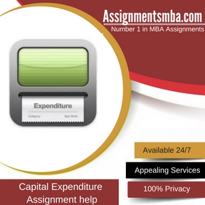 Capital Expenditure Assignment Help