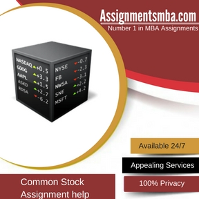Common Stock Assignment Help