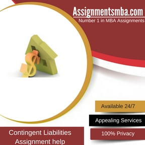 Contingent Liabilities Assignment Help