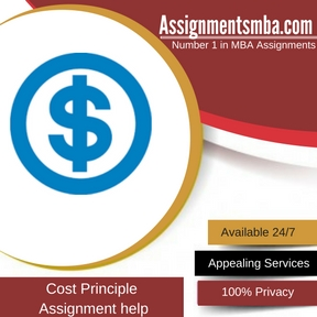 Cost Principle Assignment Help