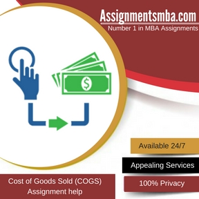 Cost of Goods Sold (COGS) Assignment Help