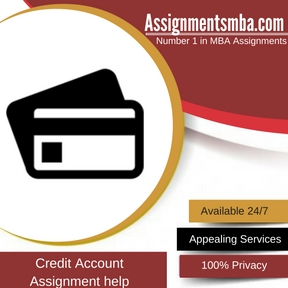 Credit Account Assignment Help