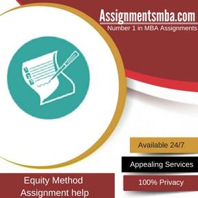 Equity Method Assignment Help