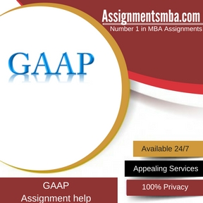 GAAP Assignment Help