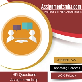 HR Questions Assignment Help