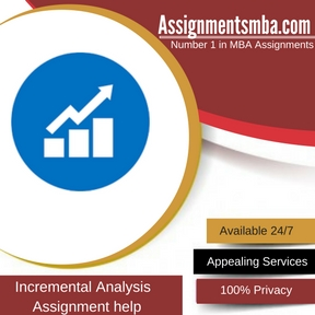 Incremental Analysis Assignment Help