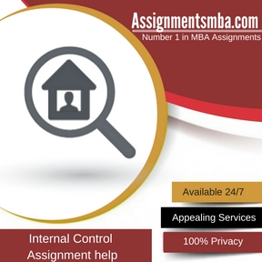 Internal Control Assignment Help