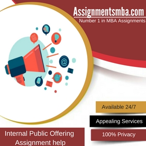 Internal Public Offering Assignment Help