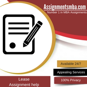 Lease Assignment Help