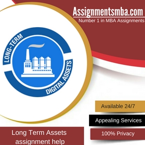Long Term Assets Assignment Help