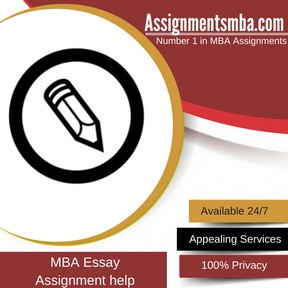 MBA Essay Assignment Help