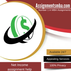 Net Income Assignment Help