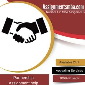 Partnership Assignment Help