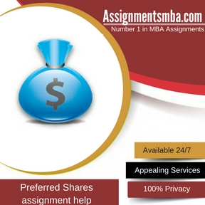 Preferred Shares Assignment Help