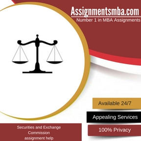 Securities and Exchange Commission Assignment Help