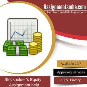 Stockholder's Equity Assignment Help