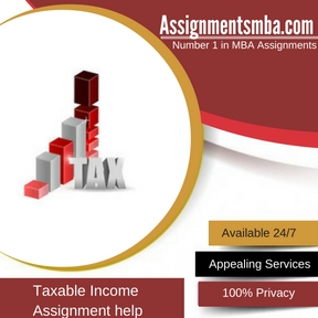 Taxable Income Assignment Help
