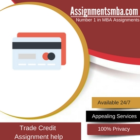 Trade Credit Assignment Help