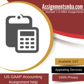 US GAAP Accounting Assignment Help