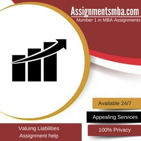 Valuing Liabilities Assignment Help