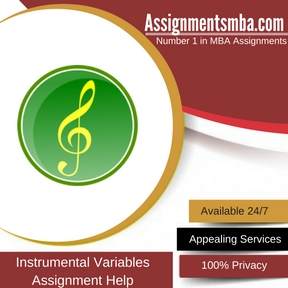 Instrumental Variables Assignment Help